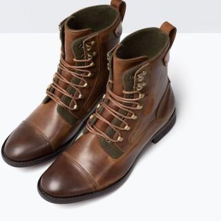 Zapatos Zara Hombre Botín Worker