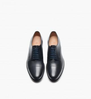 Zapatos blúcher de vestir en napa de Massimo Dutti