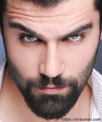 Barba suave y tersa