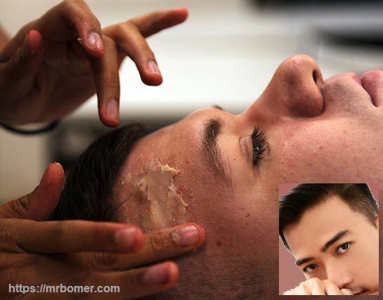 Mezcla y aplicación de base de maquillaje