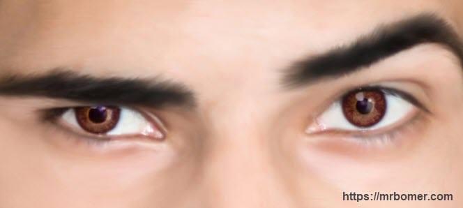 Preparación del Contorno de los Ojos en los Hombres